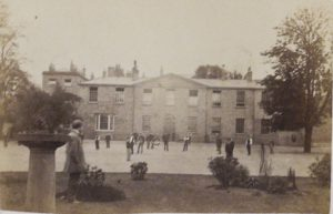 Photograph of Bootham School, dated June 1863.