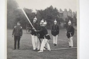 Photograph of Bootham School Fire Brigade 1911