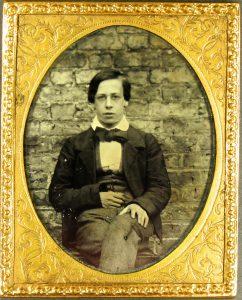 Photograph of Edward R. Allen (1841-1916; Bootham 1854-57)
