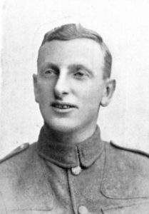 Photograph of Henry Edwin Bown in uniform.