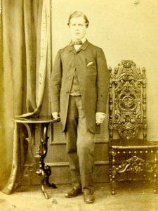 Photograph of Joshua Rowntree (1844-1915; Bootham 1856-60).