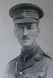 Photograph of Leonard Percy I'Anson in uniform, photographer unknown.