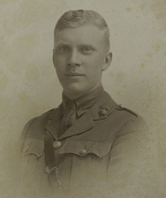 Photograph of Denys Armstrong in uniform.