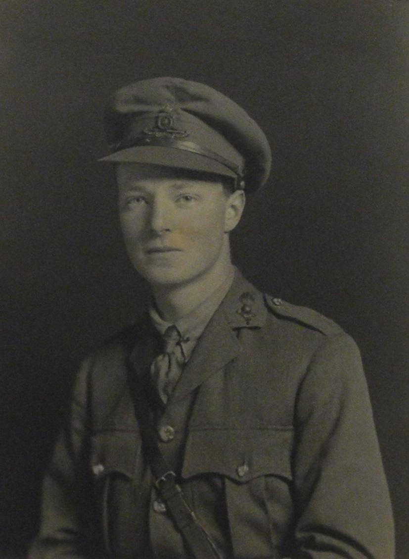 Photograph of Eric Busvine Butler in uniform.