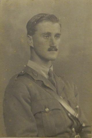 Photograph of Arthur Reginald Deane in uniform.