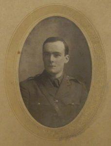 Photograph of Owen Frederic Goodbody in uniform.