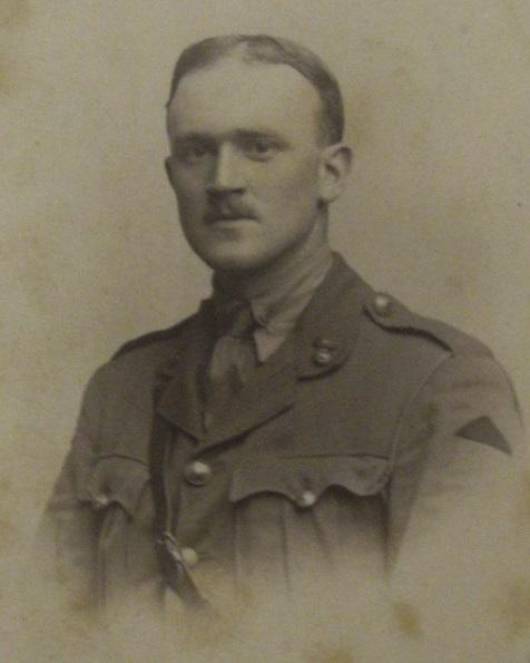 Photograph of Harold Green in uniform.