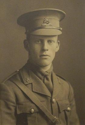 Photograph of John Maclellan Mowat in uniform.