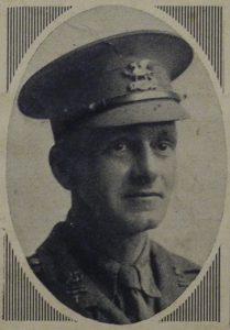Photograph of Joseph Thorp Waite in uniform.