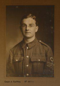 Photograph of Ronald M. Priestman in uniform.