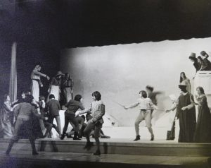 Photograph of Romeo and Juliet, 1973.