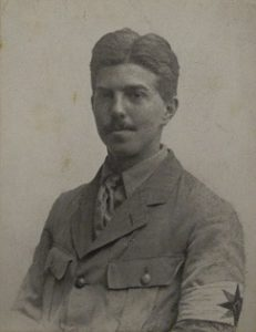 Photograph of Aubyn Harrisson Pumphrey in uniform.