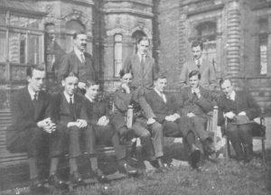 Photograph of Whitsun at Jordans, 1918.