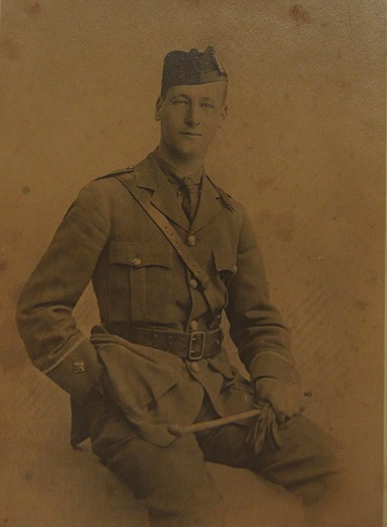 Photograph of Charles Norton Levin in uniform