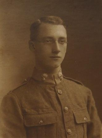 Photograph of Archibald Carmichael in uniform