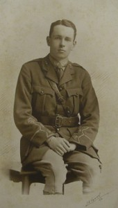 Photograph of John Lancelot Gibson in uniform