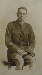 Photograph of John Lancelot Gibson in uniform