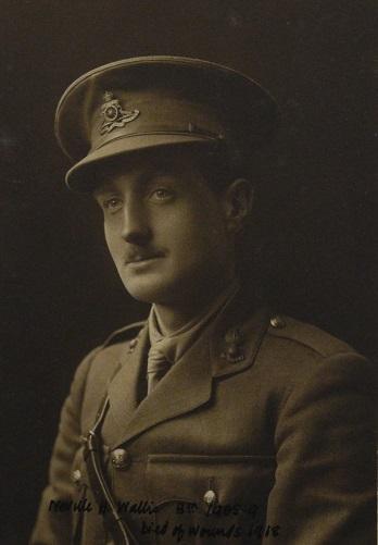 Photograph of Nevill Hampton Wallis in uniform