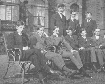 Photograph of Bootham School Reeves, 1917, including G. Birdsall