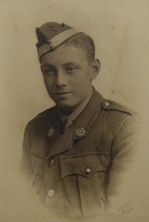 Photograph of Harwood Woodwark Barton in uniform